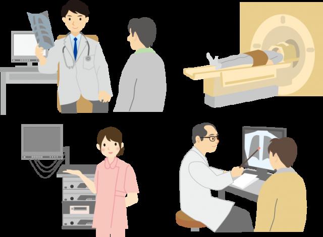 病院での治療
